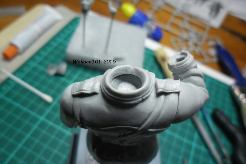 Tankiste soviétique Trumpeter 1/16, Fog models (terminé) 14051515