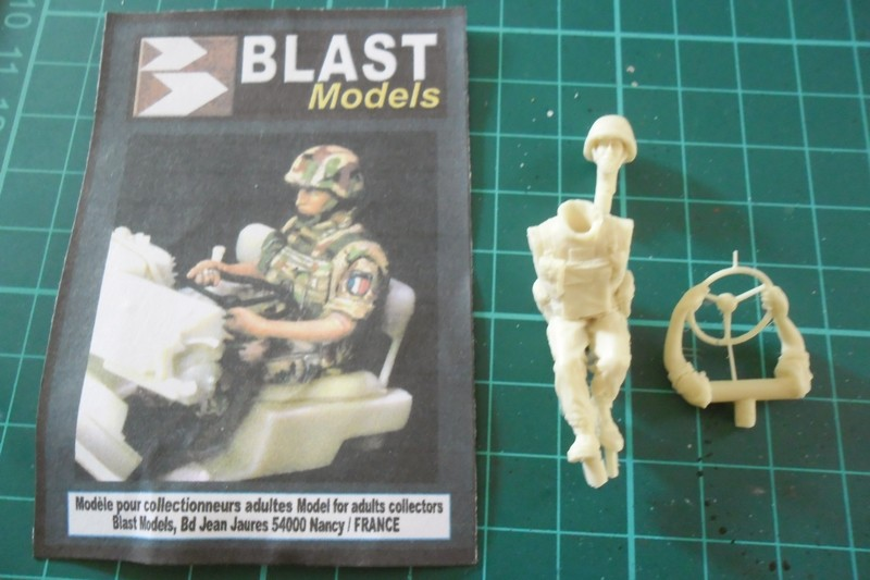 "Opération ""Serval"" figurines Blast Model  Décals FFMSC Prod. 1/35 (trio terminé)  Fig210"