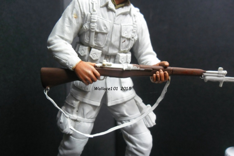 """Screaming Eagle """"pathfinder"""" D-Day (Dragon 1/16) (terminé) - Page 3 Garand14"""