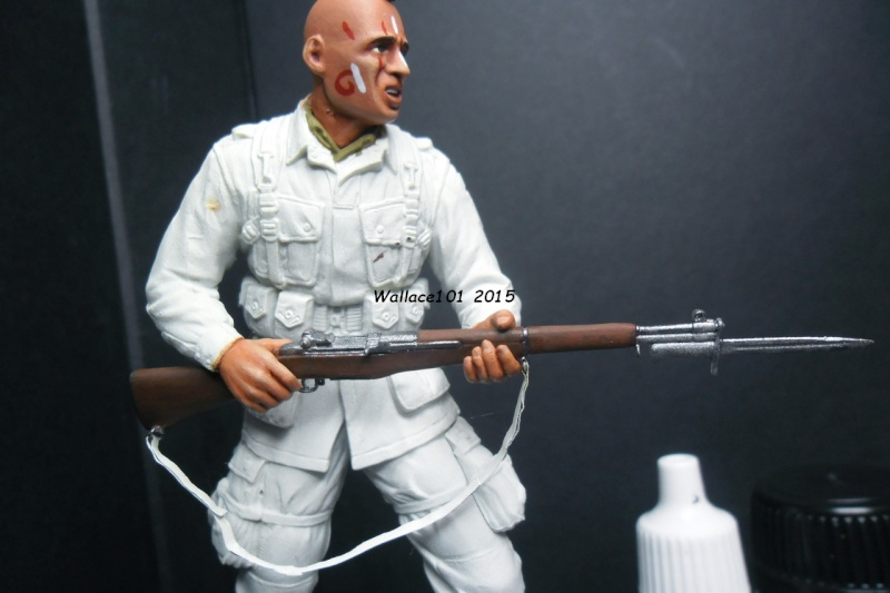 """Screaming Eagle """"pathfinder"""" D-Day (Dragon 1/16) (terminé) - Page 3 Garand16"""