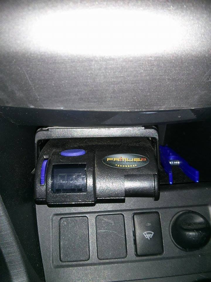 Emplacement du contrôleur de freins Primus10