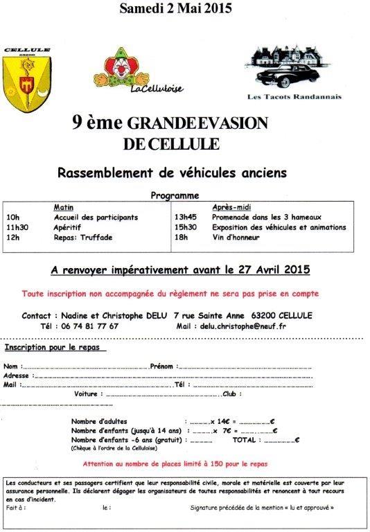 Grande Evasion de Cellule 9ém édition 63200 CELLULE le 02 mai 2015 9_ym_g10