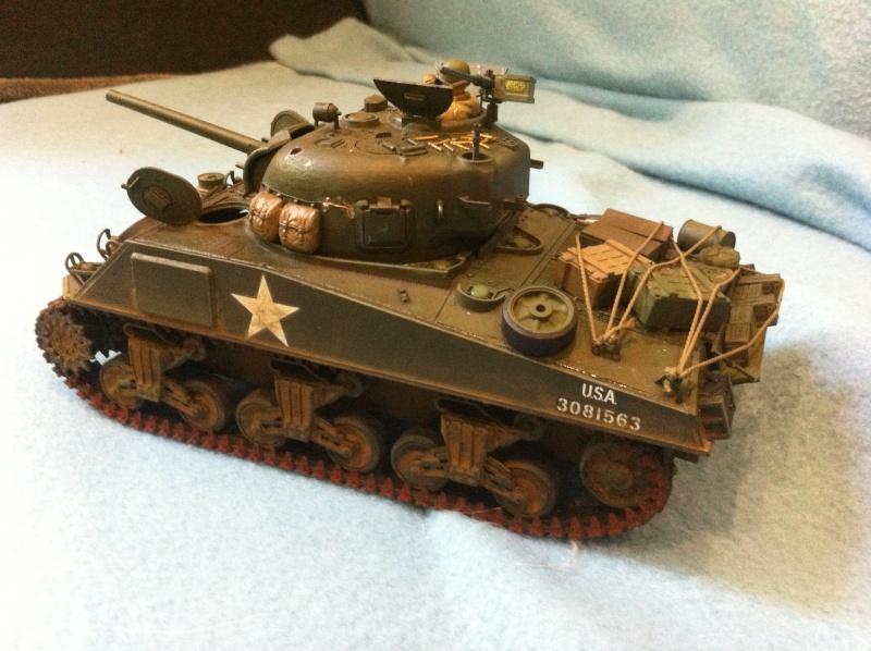Sherman - Sherman M4A3 Tamiya  Img_1526