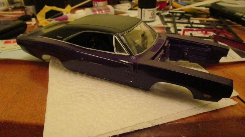 1969 charger r/t revell  Img_0819