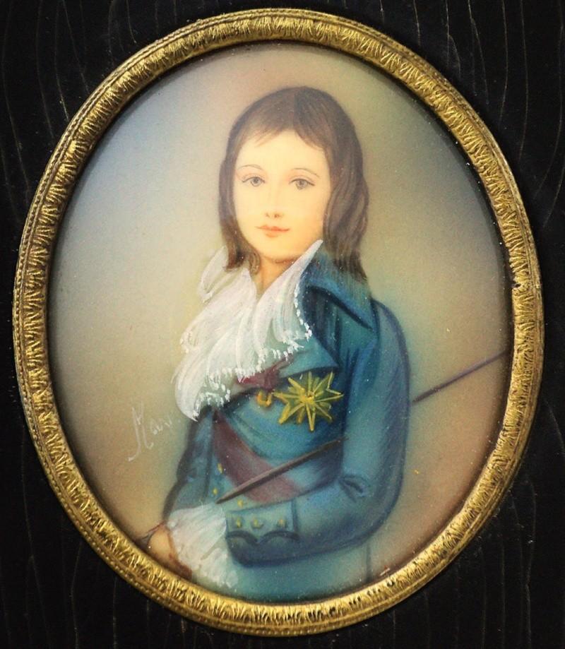 A vendre: miniatures de Marie Antoinette et de ses proches - Page 5 _5714