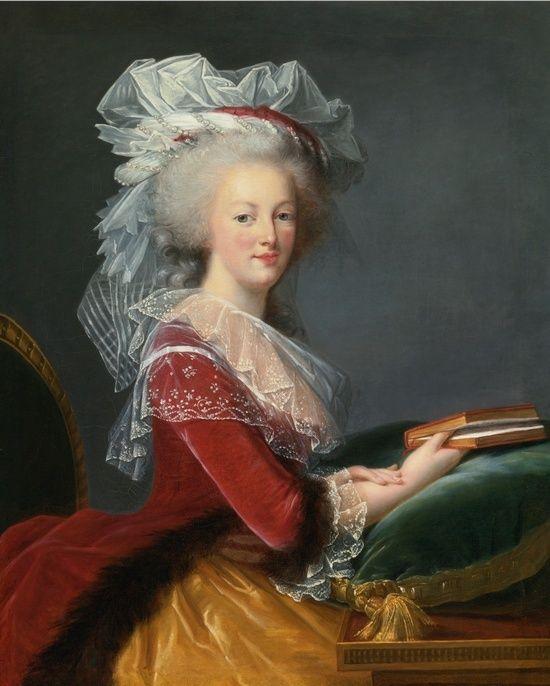 Vente exceptionnelle d'un portrait de Marie Antoinette par l'atelier Vigée Lebrun Zvig10