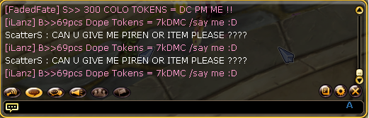 Some one desperate on having items Impers10