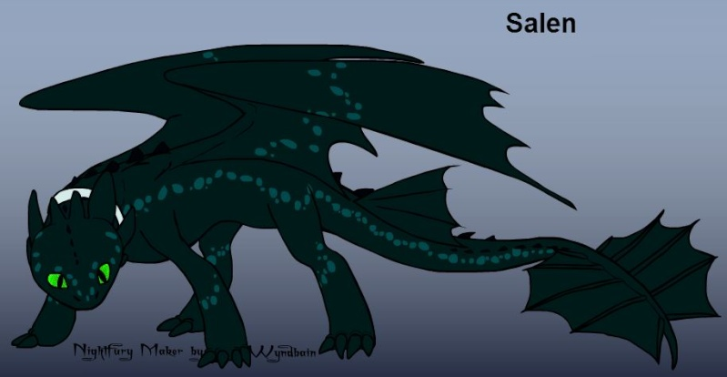 Salen, caring dragon Salen10