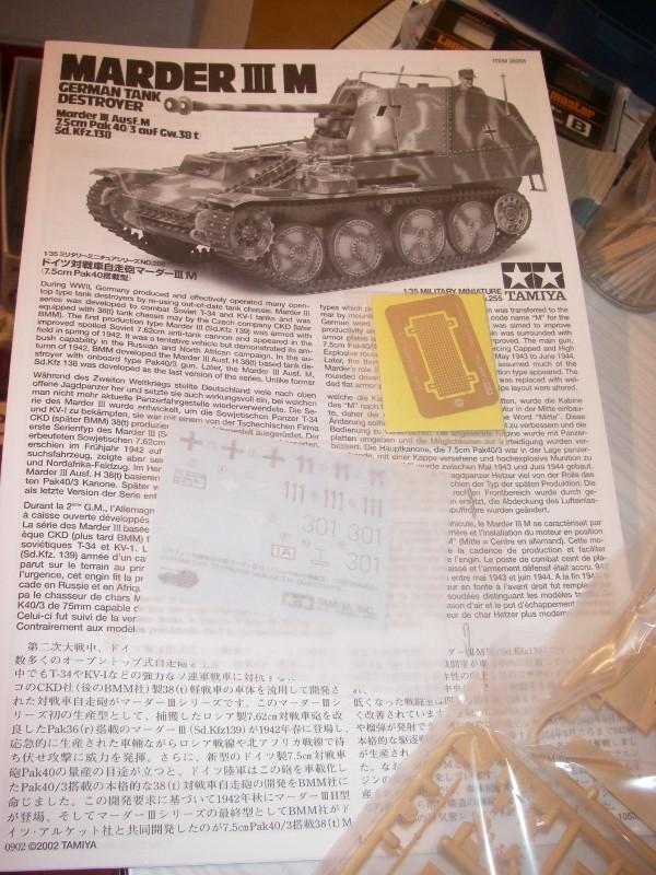Marder III M 1/35 Tamiya Imgp2581