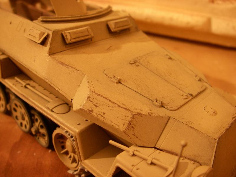 Sdkfz 251 Stuka Zu fuss Dragon 1/35 Imgp2612