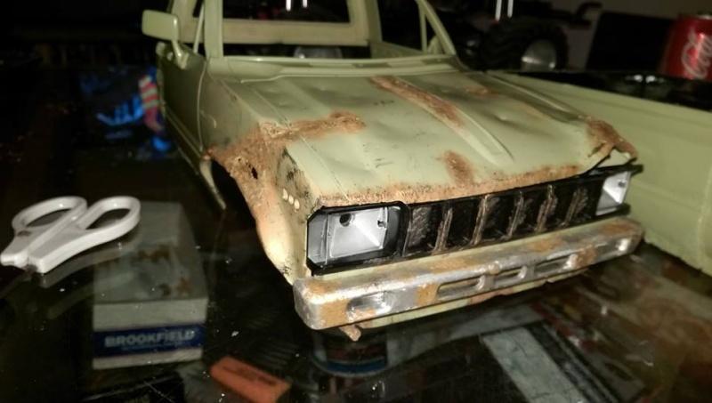 FarmTruck rust ( trailfinder2 )  10428010