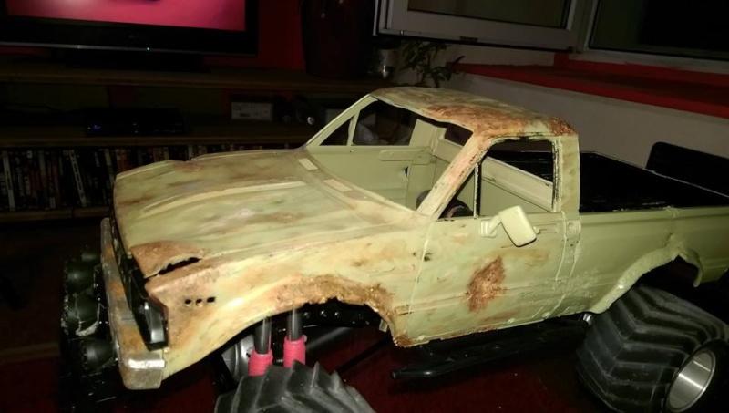 FarmTruck rust ( trailfinder2 )  10689410