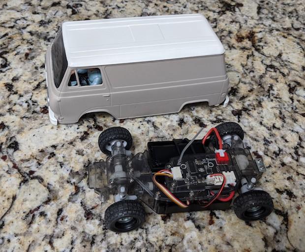 Remote Control Spy Van!  Rvan410