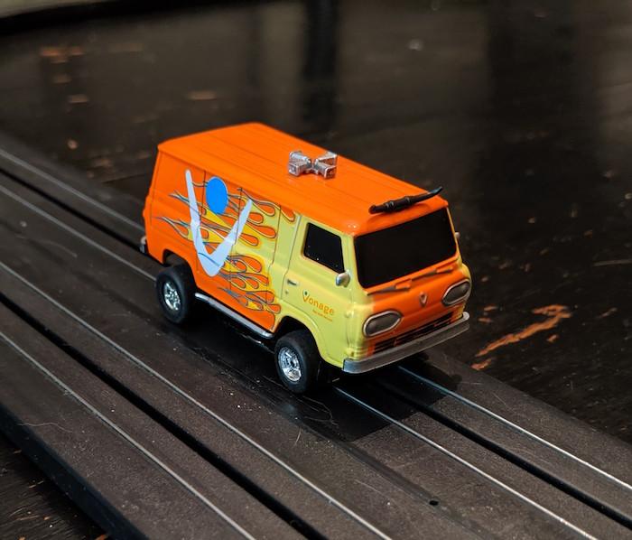 Vonage Van vs Catzilla!  Vonage10