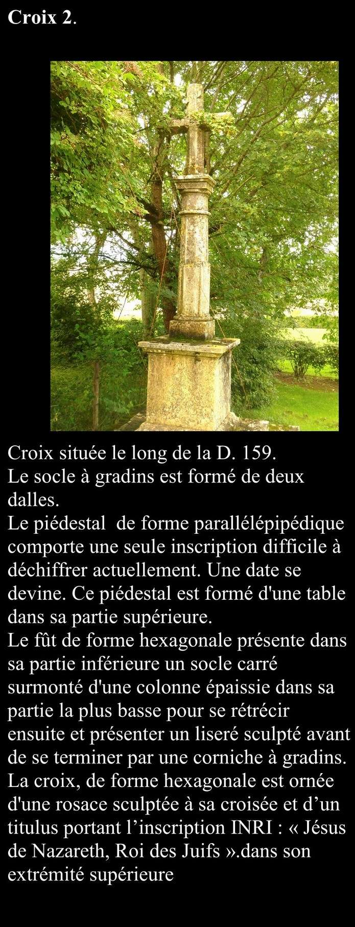 Les croix de la Chapelle sous Brancion Croix_10