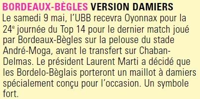 TOP14 - 24ème journée : UBB / Oyonnax (Jubilé du Stade Moga) Oyo10