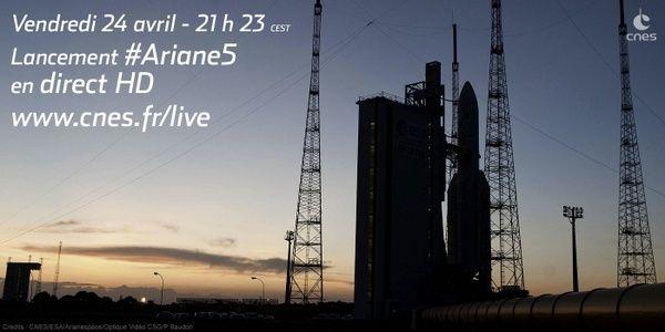 Lancement Ariane 5 ECA VA222 / Sicral-2 + Thor-7 - 26 avril 2015 - Page 4 Cdtkmr10
