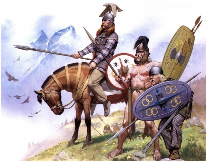 Noble Gallic Warrior - Pegaso Guerri10