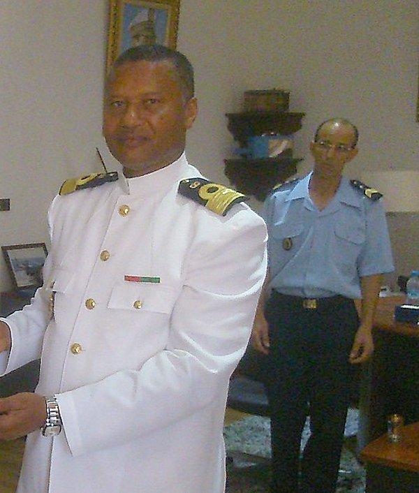 Royale - Officiers participants exercice marine Maroc  royale  Europe Maj110