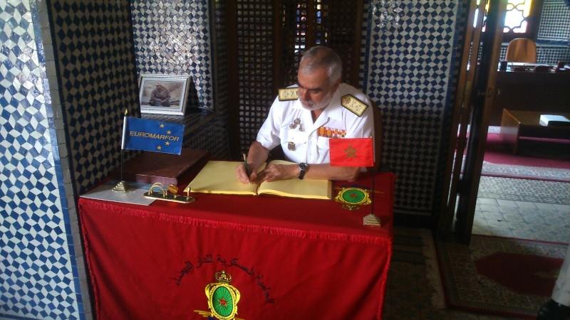 Royale - Officiers participants exercice marine Maroc  royale  Europe Mce_0010