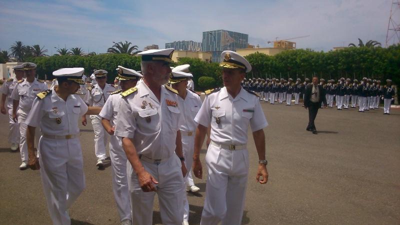 Royale - Officiers participants exercice marine Maroc  royale  Europe Mce_0014