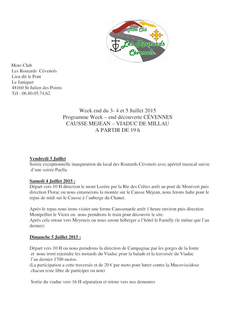Sortie découverte des Cévennes-Causse Mejean-viaduc de millau les 3,4 et 5 juillet 111