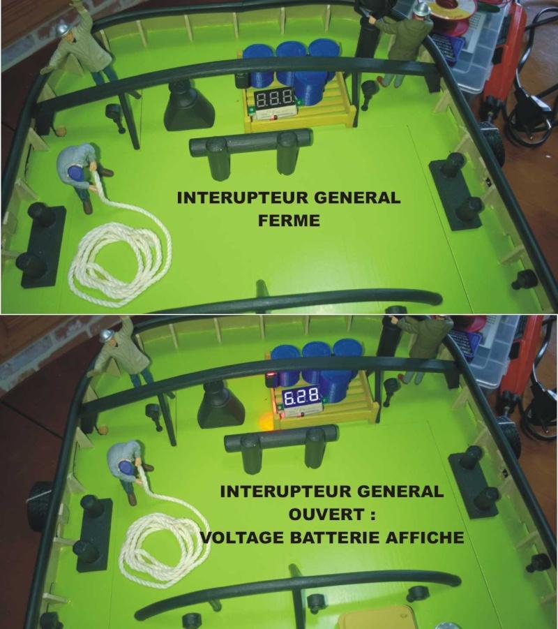 comment savoir si la batterie du bateau est chargée correctement  Voltme10
