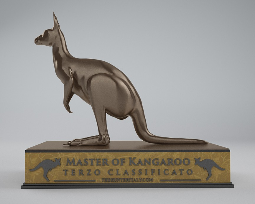 [CONCLUSA] Competizioni ufficiali theHunterItaly - MASTER OF KANGAROO - Canguro rosso Bro12