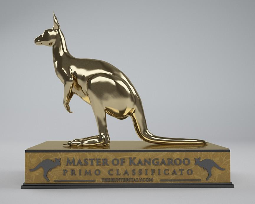 [CONCLUSA] Competizioni ufficiali theHunterItaly - MASTER OF KANGAROO - Canguro rosso Oro12