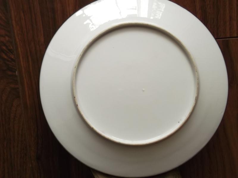 Handpainted plate. 2012-051