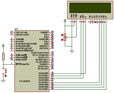دليل ربط شاشة LCD نوع 2X16 بالميكروكونترولر PIC16F877A مع استخدام المترجم CCS C : 213