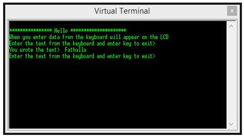 الاتصال بين الميكروكونترولر PIC والكمبيوتر PC والمحاكاة ببرنامج ISIS مع المترجم CCS C   223