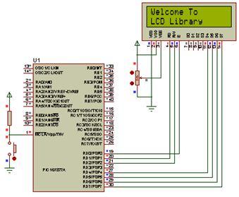 دليل ربط شاشة LCD نوع 2X16 بالميكروكونترولر PIC16F877A مع استخدام المترجم CCS C : 312
