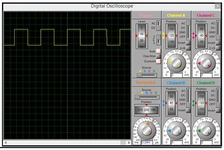 برنامج مولد نبضات بتردد 1KHz باستخدام المقاطعة بالمؤقت Timer0 315