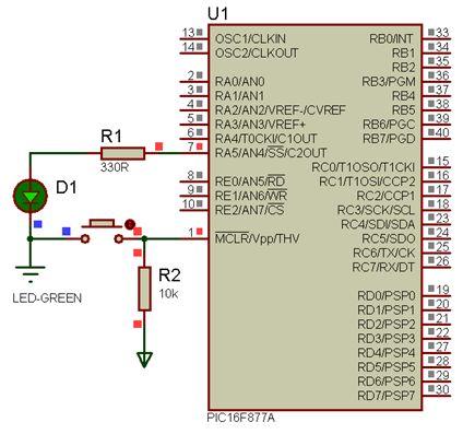 برمجة الميكروكونترولر PIC بلغة السى مع المترجم CCS C  برنامجك الأول : 610