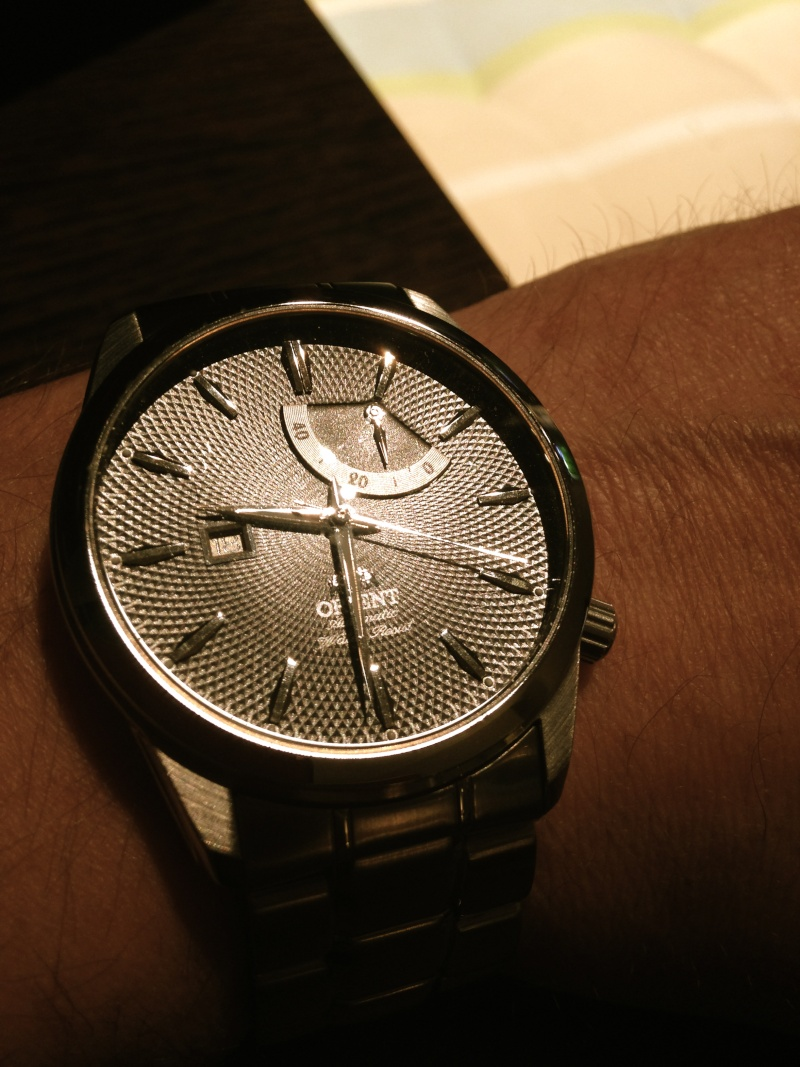 Votre montre du jour - Page 3 Orient10