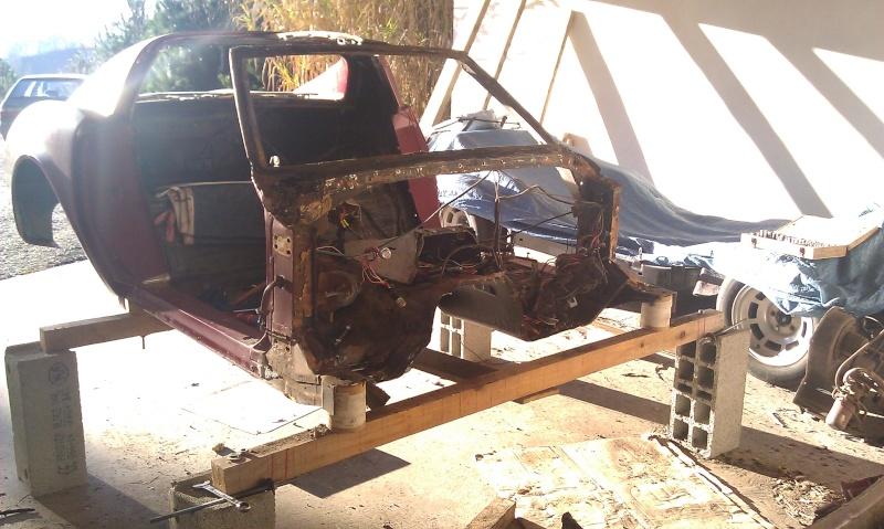 resto corvette c3 de 76 dans la Drome. - Page 3 Imag1410