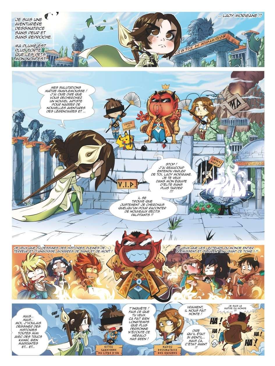 Nouveau spinoff: Les Légendaires Parodia Planch10