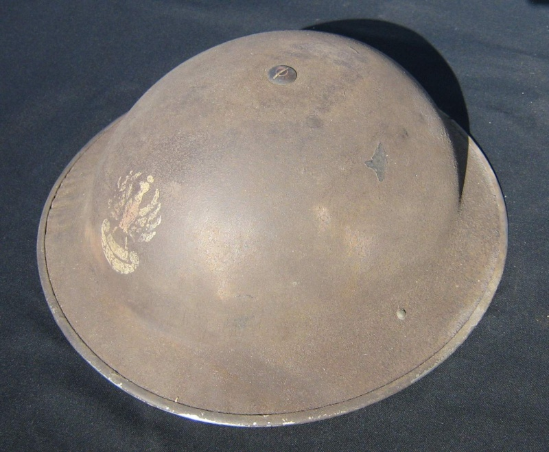 Lets see your favorite worn Canadian/Commonwealth helmets with nice aged patina - Page 3 Mk_ii_11