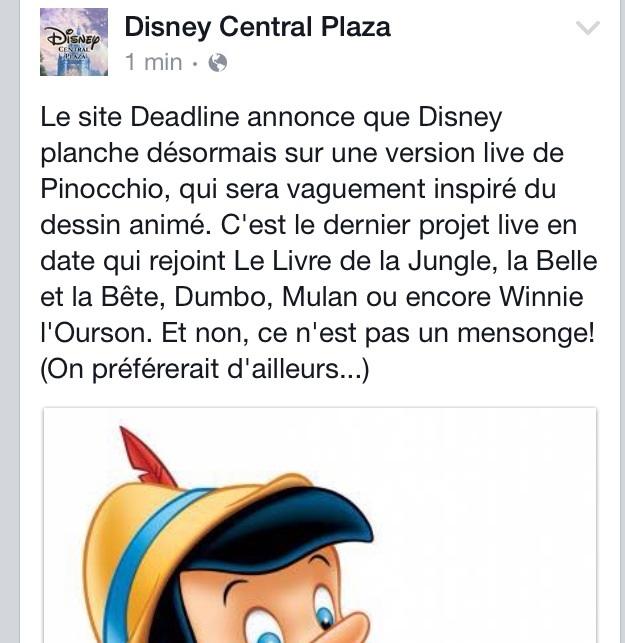 Pinocchio [Disney - 202?] Image12
