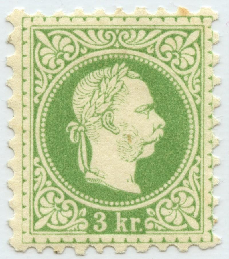 Freimarken-Ausgabe 1867 : Kopfbildnis Kaiser Franz Joseph I - Seite 9 Ank_3610