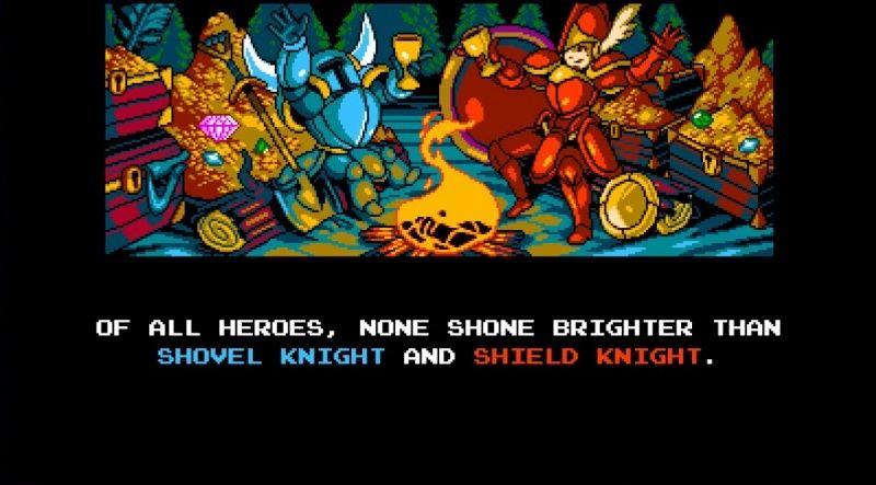 Shovel Knight ** SPOILER ** Intro210