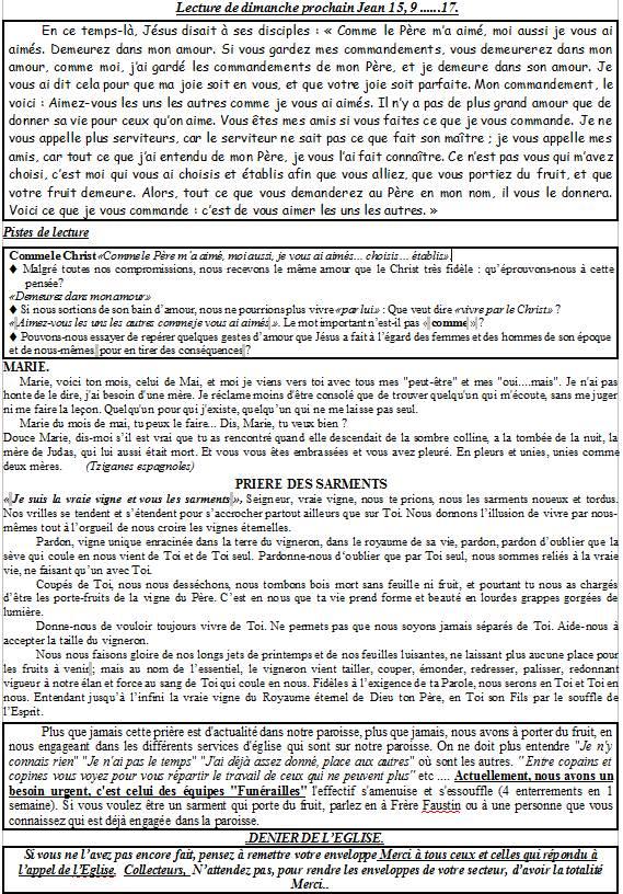 Trait d'Union du 2 mai 2015 Tu150511