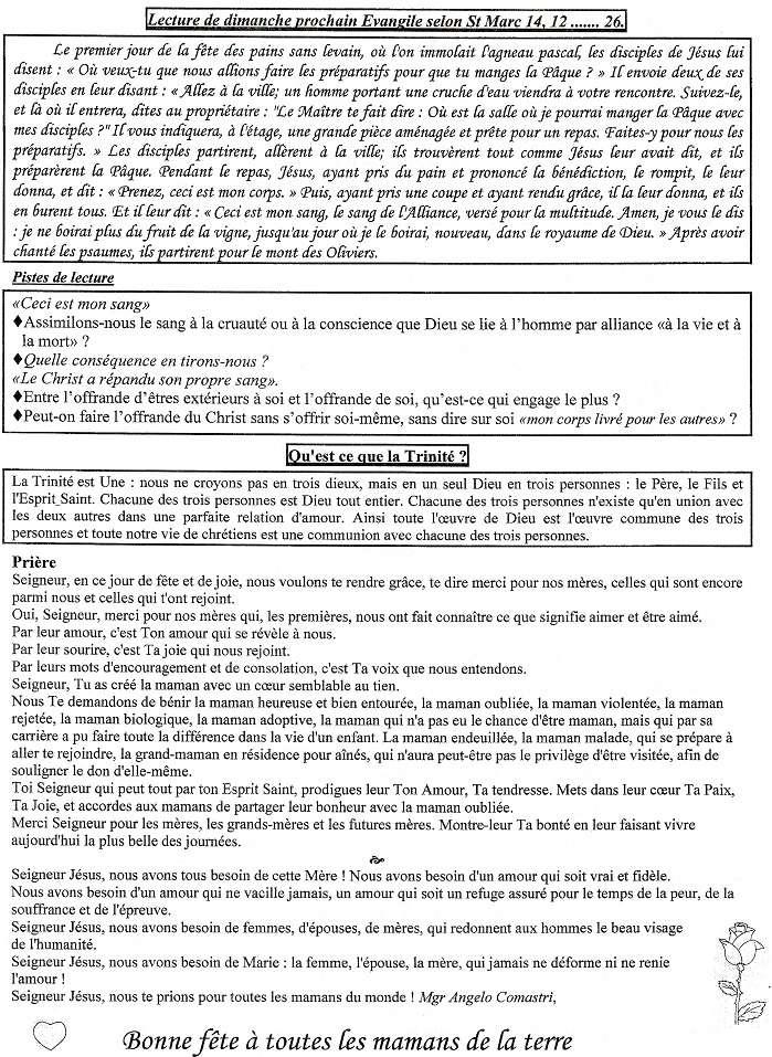 Trait d'Union du 31 mai 2015 Tu150520