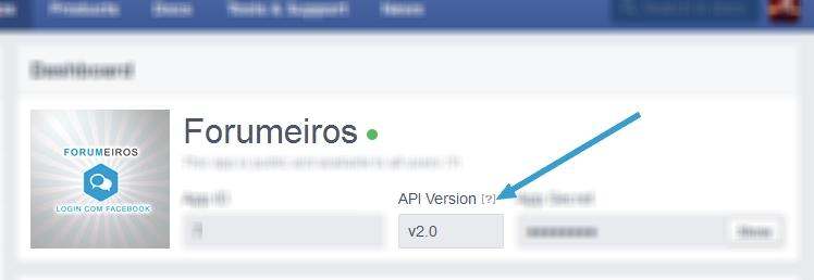 [IMPORTANTE] Atualização do plugin de conexão do Facebook Connect dos fóruns Appok10