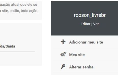 Administrar o perfil de usuário e envio de banners externos por URL - Diretório dos Sites Forumlive Profil11