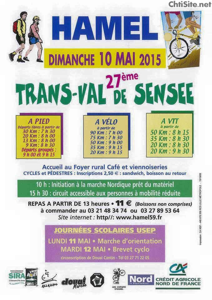 27ième Trans' Val de Sensée 2015 à Hamel ( 59 ) 27iyme10