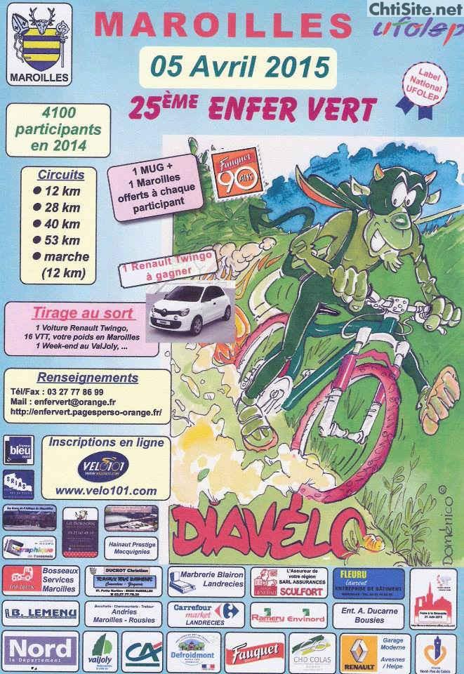 25ième Enfer vert (  5 avril 2015 ) à Maroilles ( 59 ) Enfer-10