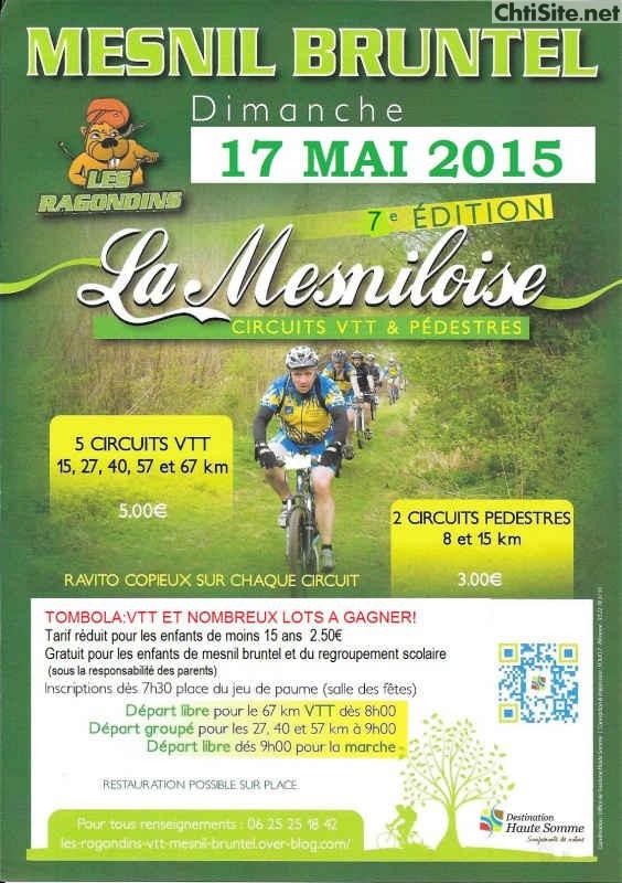 La Mesniloise 2015 à Mesnil-Bruntel ( 80 ) La-mes10