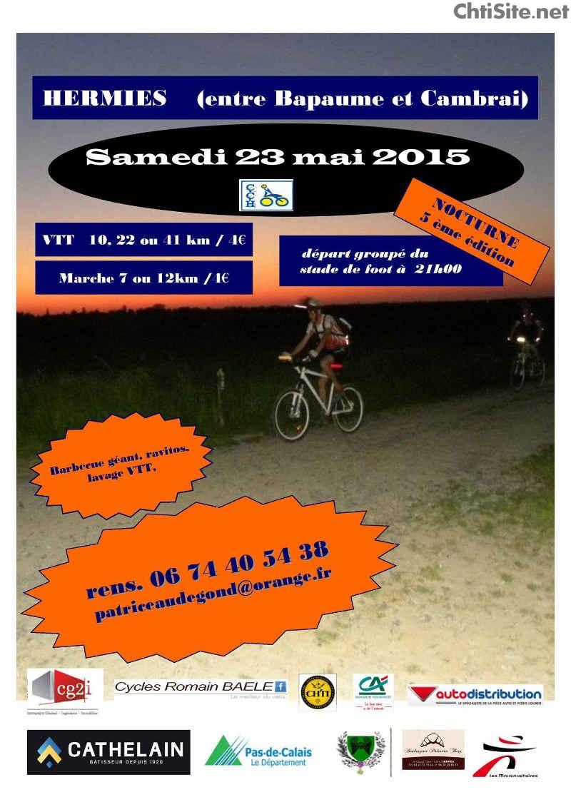 Nocturne VTT 5ième édition 2015 à Hermies ( 62 ) Noctur10